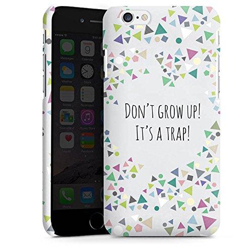 Apple iPhone X Silikon Hülle Case Schutzhülle Sprüche Muster Dreiecke Premium Case matt