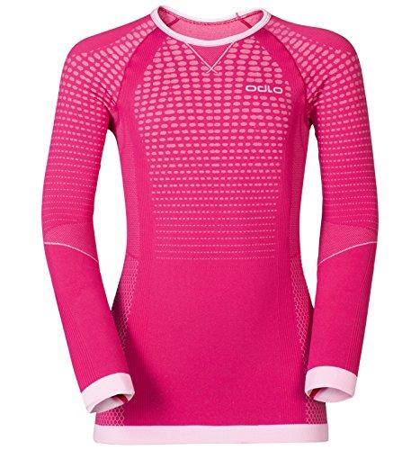 Odlo Evolution Warm Shirt Langarm, Rot Pflaume, 140   07613273946970
