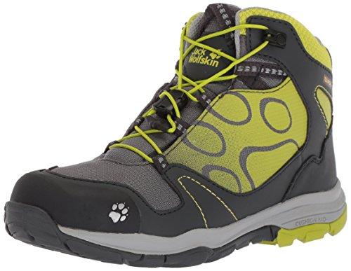 Jack Wolfskin AKKA TEXAPORE MID B Wasserdicht, Jungen Trekking- & Wanderstiefel, Grün (lime), 32 EU (13 UK)