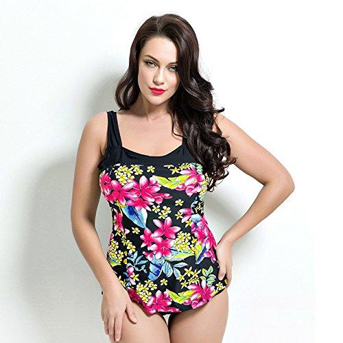 MAOYYM Femme Maillots De Bain Bikinis Swimwear Swimsuit Bathing Suit Mode Simple Sexy Respirant Séchage Rapide Grande Taille Monopièce Femme Gros Seins Mince Triangle Sport