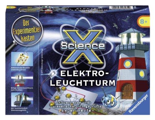 Ravensburger 18181 - ScienceX: Elektro-Leuchtturm - Experimente