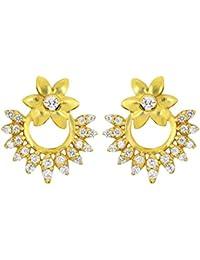 Joyalukkas 22KT Yellow Gold Stud Earrings for Women
