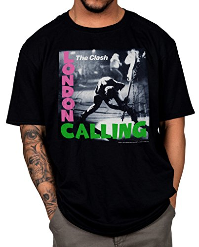 Official The Clash London Calling T-shirt