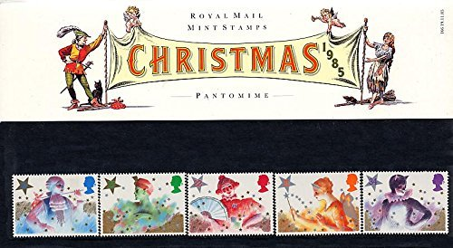 1985 Christmas Pantomime Presentation Pack PP143 (printed no. 166) - Royal Mail Stamps by Royal - Rocket Pack Kostüm