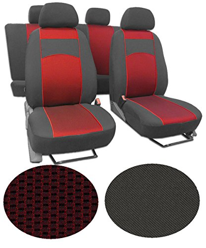 EJP Sitzbezüge für Dacia DOKKER Super Qualität, Extra Langlebig im Design VIP-2