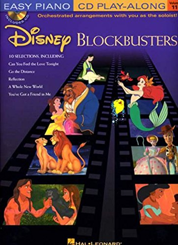 Disney Blockbusters: Easy Piano Play-Along Volume 11: v. 2