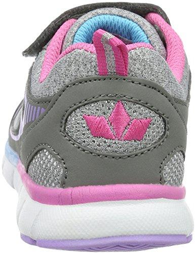Lico Rainbow Vs, Baskets Basses Fille Gris (Grau/Pink/Lila)