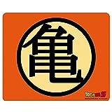 Dragonball Z - Mausmatte Mauspad - Muten Roshi - Kame Haus Logo - 23 x 19 cm
