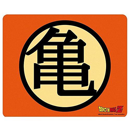 Kostüm Z Ball Dragon Goten - Dragonball Z - Mausmatte Mauspad - Muten Roshi - Kame Haus Logo - 23 x 19 cm