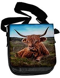 Highland cow II Animal Bolsa De Hombro 153