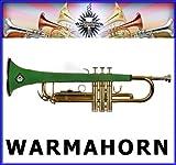 warmahorn Trompette en néoprène Housse de protection, vert