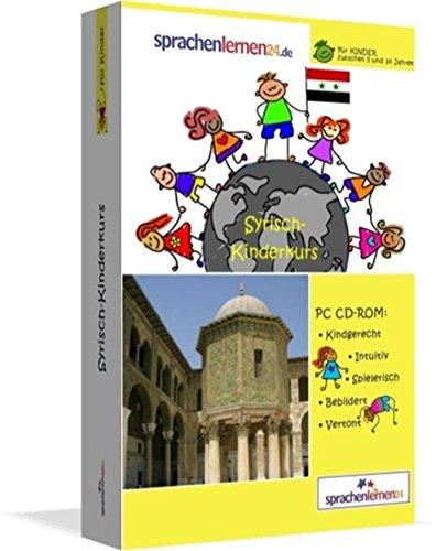 Syrisch-Kindersprachkurs von Sprachenlernen24: Kindgerecht bebildert und vertont für ein spielerisches Syrischlernen. Ab 5 Jahren. PC CD-ROM für Windows 10,8,7,Vista,XP / Linux / Mac OS X
