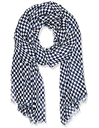 Scotch & Soda Damen Umschlagtuch Drapy Scarf in Various Allover Prints