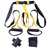 Schlingentrainer Hug Flight® Suspension Sling Trainer Functional Training Fitness Gelb/Schwarz
