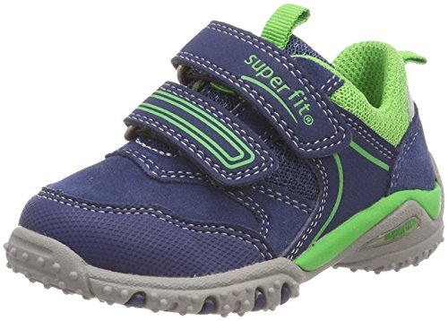 Superfit Baby Jungen SPORT4 Mini Sneaker, Blau (Water Kombi), 24 EU