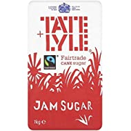 Tate & Lyle Mermelada De Comercio Justo 1 Kg De Azúcar (Paquete de 6)