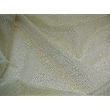 Tul de color oro hilos suave de costura para vestidos de tul tela–0,5Meter * * Se vende por orden de Reino Unido P y p * * RÁPIDO ENVÍO GRATIS * *