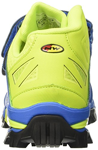 Northwave Enduro Mid - Chaussures - turquoise 2017 chaussures vtt shimano blue/yellow fluo