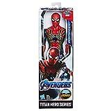 Marvel Avengers – Figurine Marvel Avengers Endgame Titan – Iron Spider-Man - 30 cm - Jouet Avengers