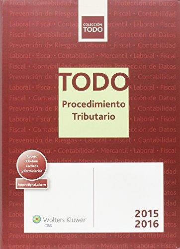 Todo Procedimiento Tributario 2015-2016 por Aa.Vv.