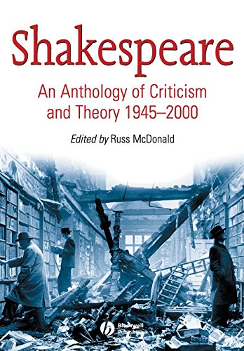 Shakespeare: An Anthology of Criticism and Theory 1945-2000 por McDonald