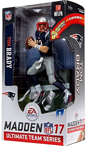 Tom Brady NFL Madden 17 Ultimate Team Series McFarlane Sports Figure by Madden