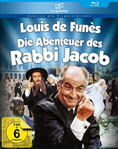 Die Abenteuer des Rabbi Jacob - mit Louis de Funès (Filmjuwelen) [Blu-ray]