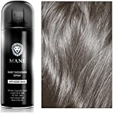 Mane Coloured Hair Thickening Spray BLACK 200ml