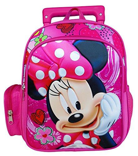 Paxos 55219 Sac à dos à roulettes maternelle - Disney - Minnie