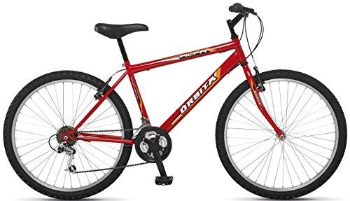 Orbita ALFA 26″ – Bicicleta BTT de montaña para hombre, 18 velocidades, cuadro acero, frenos V-Brake