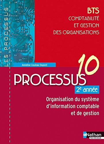Processus 10 - Organisation du système d'information comptable et de gestion - BTS CGO 1re année par Annelise Couleau-Dupont