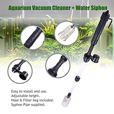 1 Stück Aquarium Batterie Siphon Betrieben Aquarium Vakuum Kies Wasserfilter Clean Siphon Filter Reiniger Aquarium Werkzeuge Aquarium