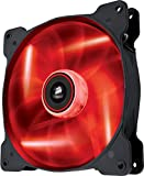 Corsair CO-9050024-WW Air Series SP140 LED 140mm Low Noise High Pressure LED Fan Single Pack, Red