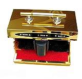 LYY Nettoyeuse de Chaussures/Machine à Polir/2brosses en Coton Rotatives/Brosse de Nettoyage Convient Aux Hôtels Familiaux