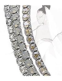 Extensible Bracelet Set 'Bridal', avec Cristaux originaux de Swarovski Elements
