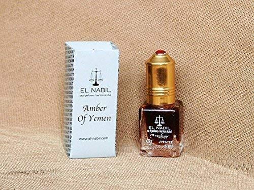 EL NABIL 5ml Amber of Yemen 100% huile