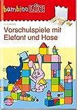 bambinoLÜK-System: bambinoLÜK: Vorschulspiele mit Elefant und Hase: 2 - 4 Jahre