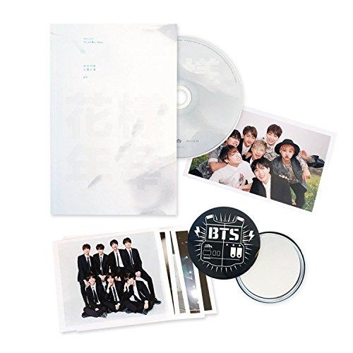 BTS 3rd Mini Album - In The Mood For Love PT 1 [ WHITE Ver  ] CD +  Photobook + Photocard + FREE GIFT / K-POP Sealed