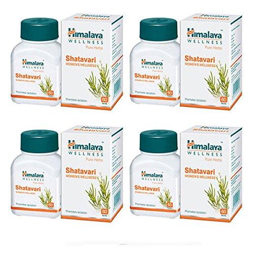 Himalaya Wellness Shatavari 60 Tablets, Pack of 4