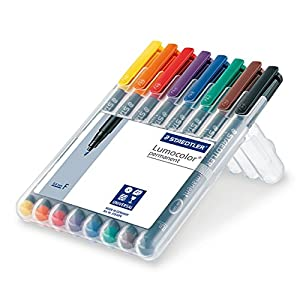 Staedler 318WP8 – Rotulador permanente, Multicolor