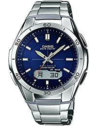Casio Wave Ceptor – Herren-Armbanduhr mit Analog/Digital-Display und Massives Edelstahlarmband – WVA-M640D-2AER