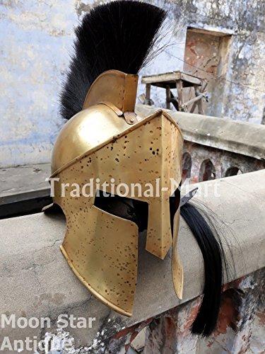ANTIQUENAUTICAS 300 Film Spartanischer König Leonidas Mittelalterlicher Römischer Helm Heroische Krieger Kostüme