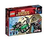 LEGO Super Heroes - Marvel - 76004 - Jeu de Construction - La Poursuite en...