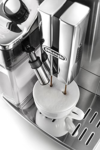 51XY0NKw0TL - De'Longhi Primadonna S Evo, Fully Automatic Bean to Cup Coffee Machine, Espresso and Cappuccino Maker,Stainless Steel…
