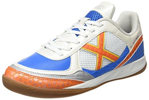 Munich X- Star Calzatura, Bianco/Blu/Arancione, 43