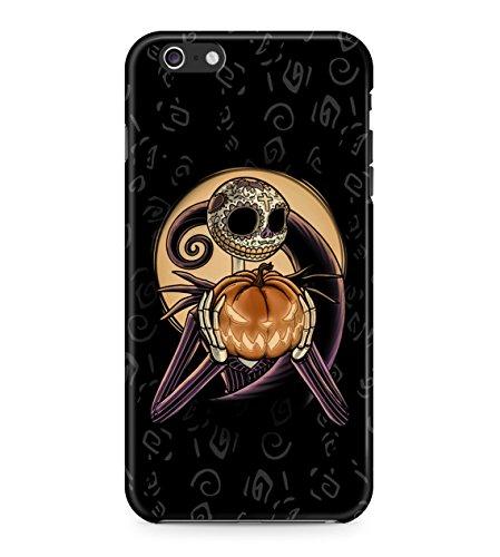 Nightmare Before Christmas Sugar Skull Hard Plastic Snap On Back Case Cover For iPhone 6 Plus / 6s Plus Custodia