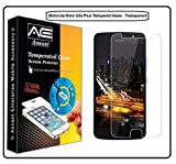 #7: Annant Entp™ Shield For MOTO G5s PLUS Tempered Glass Screen Protector 0.3mm Ultra Thin 9H Hardness 2.5D Round Edge