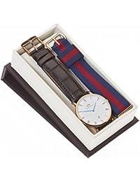 Daniel Wellington Herren-Armbanduhr DW00100085SET
