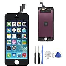 pantalla táctil de la pantalla LCD del reemplazo de la pantalla del iphone 5S LCD para el conjunto de la asamblea del iphone 5s completo con las herramientas libres