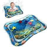 LianMengMVP Coussin pour Eau Tapis d'eau Gonflable de bébé, Centre de Jeu d'activité d'amusement d'enfant en Bas âge de Tapis de Ventre Coussins d'eau Tapis de Jeu d'eau pour Bébés Drôles